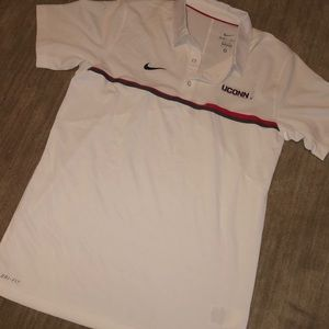 Nike Sri fit UConn golf shirt